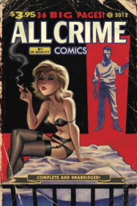 All Crime Comics 1 Bruce Timm Cover