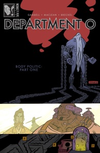 DEPT 0 #1 cover