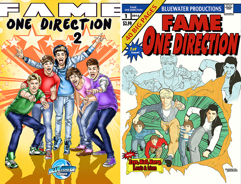 One Direction as the X-Men