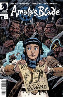 Amala's Blade #1 Cover