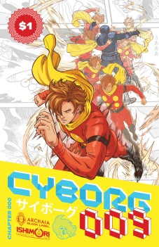 Cyborg 009 Chapter 000 Cover