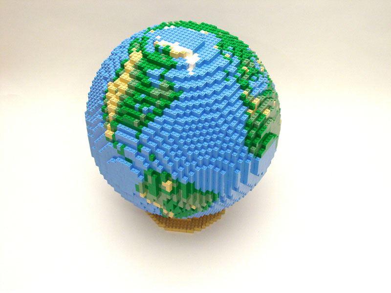 Модульного оригами планета земля