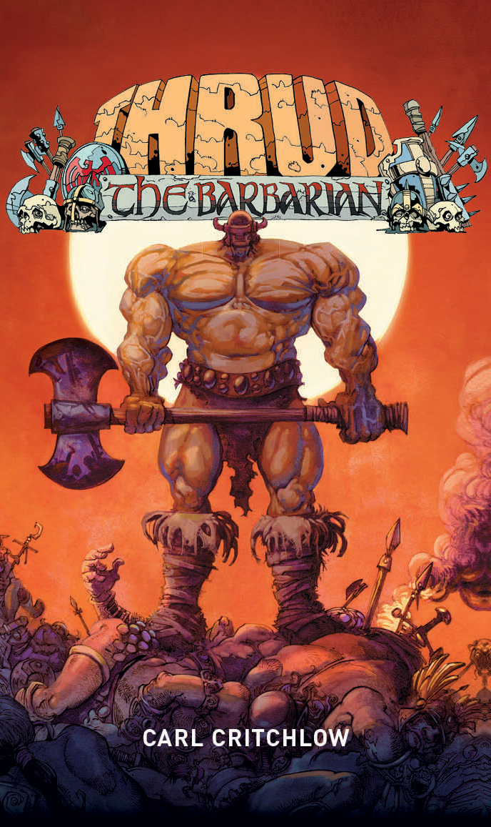 Thrud the Barbarian cover