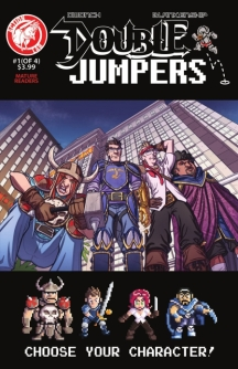 double jumpers #1 cover