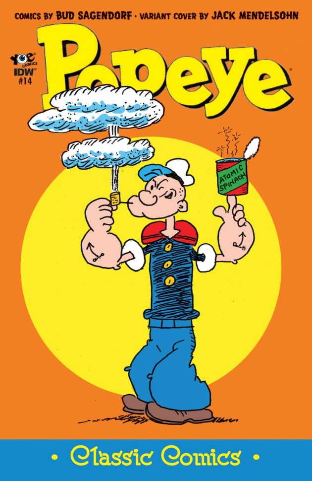Popeye_Classic_14_Cover_Variant