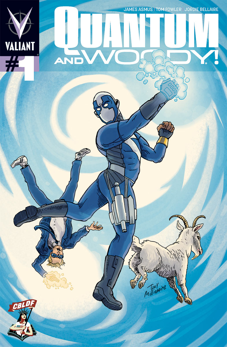 valiant cbldf sdcc quantum and woody variant