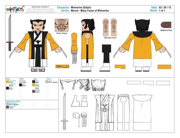 Wolverine Saga - Logan-San Art