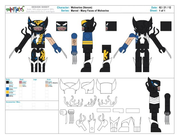 Wolverine Saga - Symbiote Art