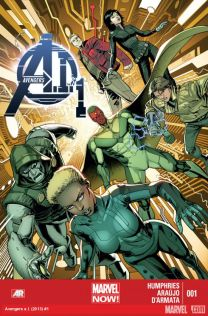 avengers ai #1 cover