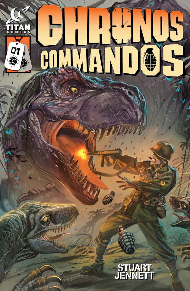 Chronos Commandos Dawn Patrol #1 cover