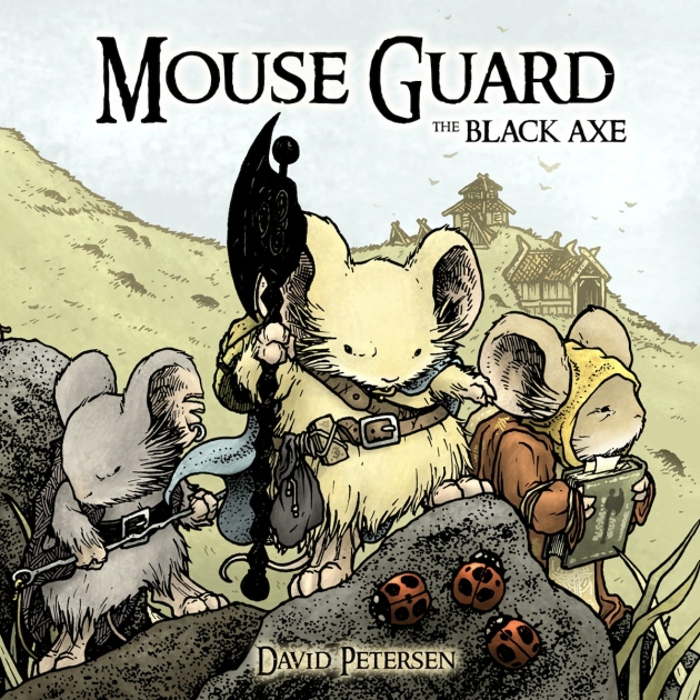 Mouse Guard V3 The Black Axe Front Cover