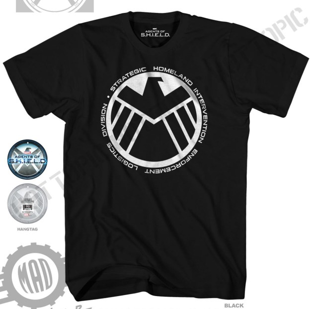 Agents of SHIELD Hot Topic Tee