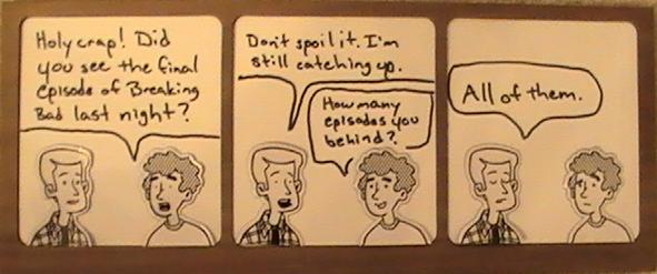 Cartoon Breaking Bad Spoilers