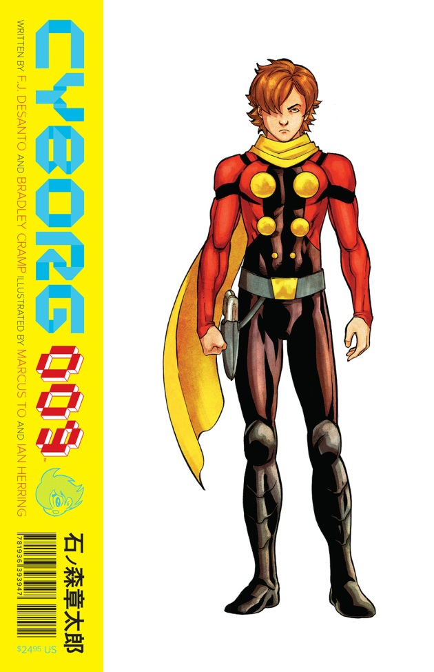 Cyborg 009 Cover