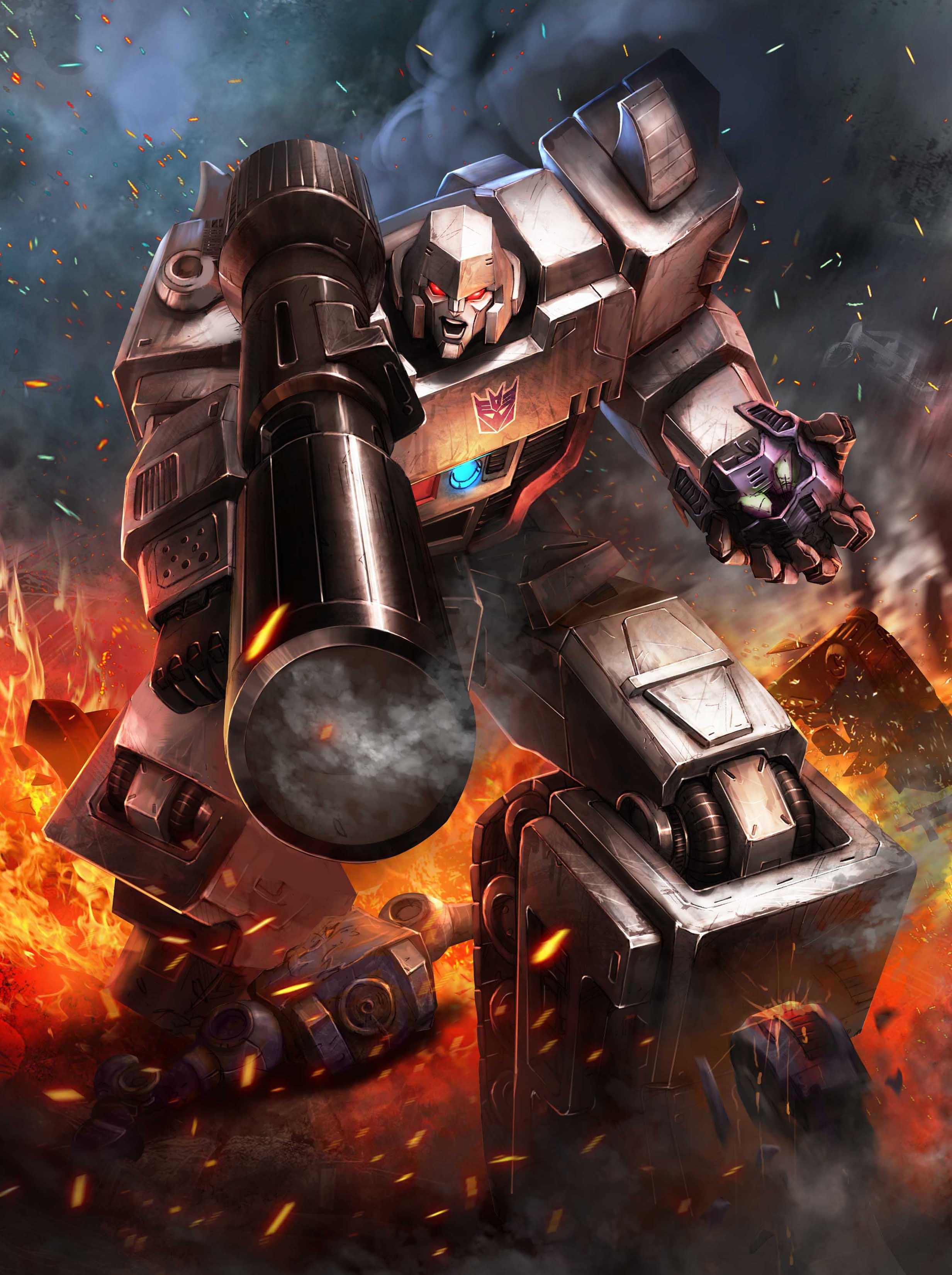 Dena kicks off a transformers legends september to remember campaign with optimus prime vs - Transformers prime megatron ...
