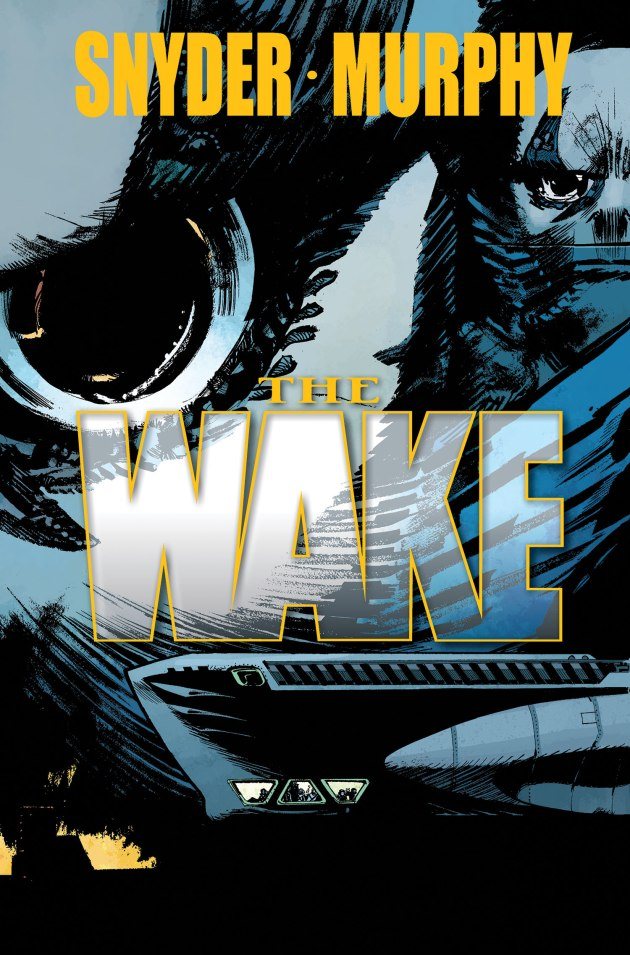 The Wake #4 cover