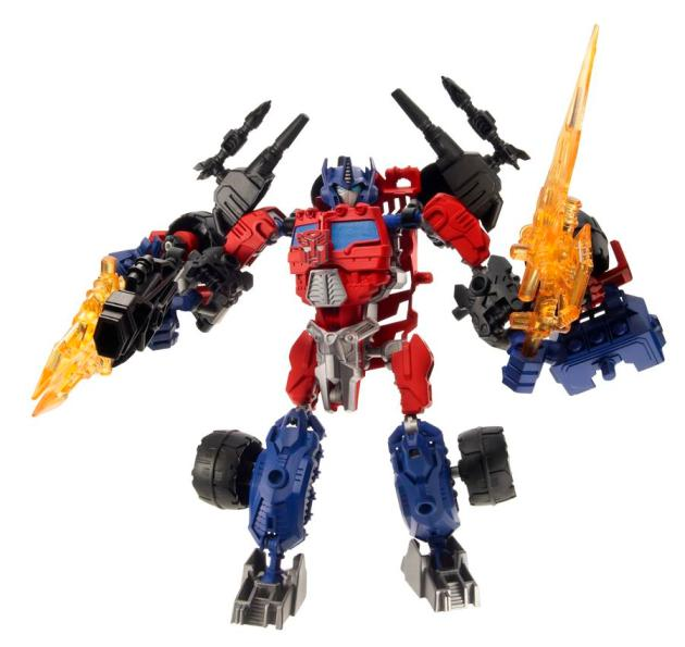A3741 Construct-Bots Ultimate Optimus Prime Robot Mode wWeapon