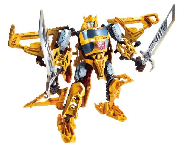 A4707 Construct-Bots Bumblebee Triple Changer Robot Mode