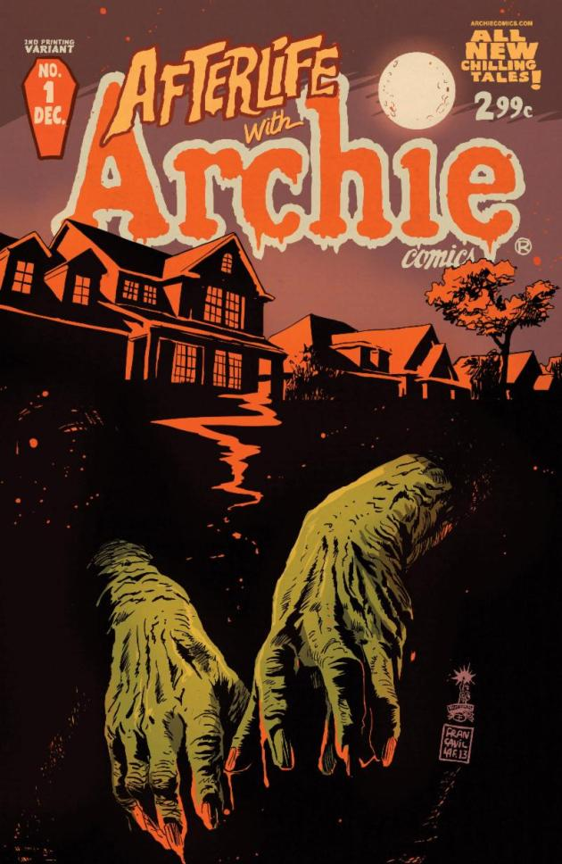 arfterlife with archie 1 2nd printing