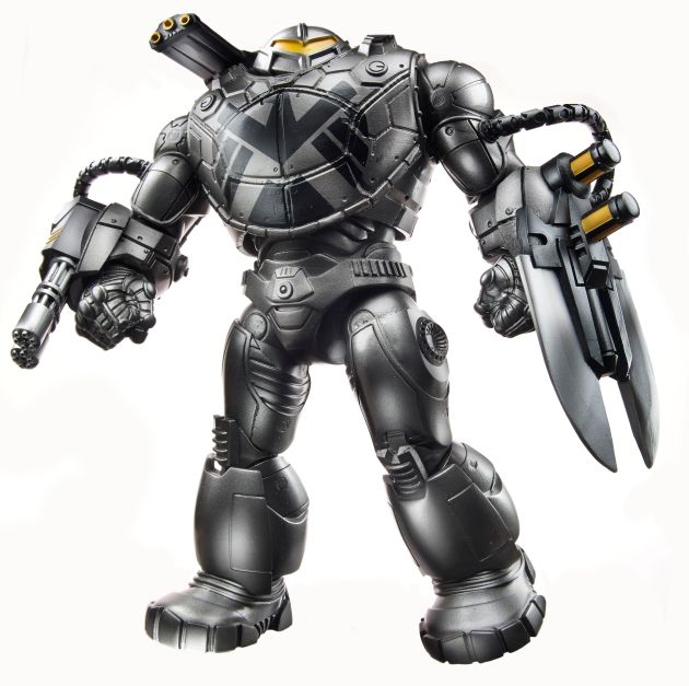 Captain America 6-Inch Legends Infinite Series - BuildAFigure Mandroid