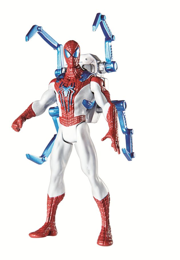 SPIDER STRIKE FIGURES 3.75inch Backpack Spiderman A5703