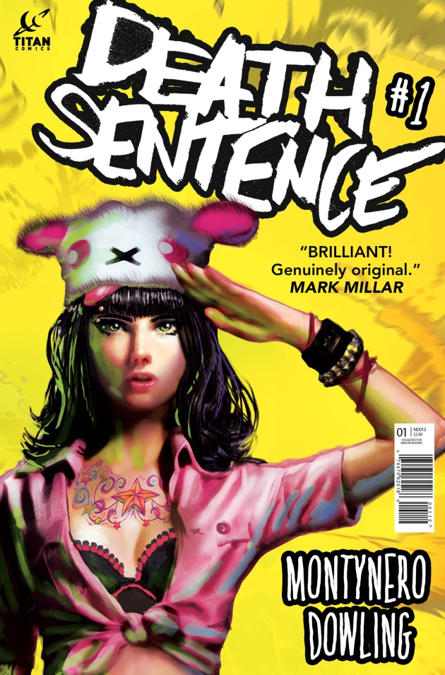 Death Sentence #1 Cover Second Printing Variant