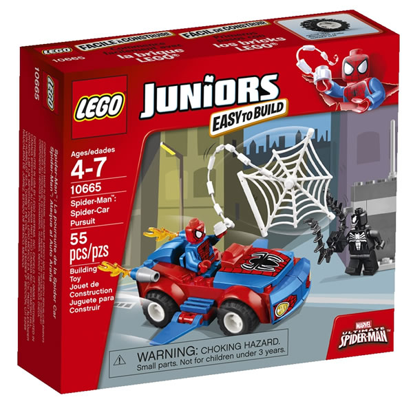 10665 Spider-Man Spider-Car Pursuit 1