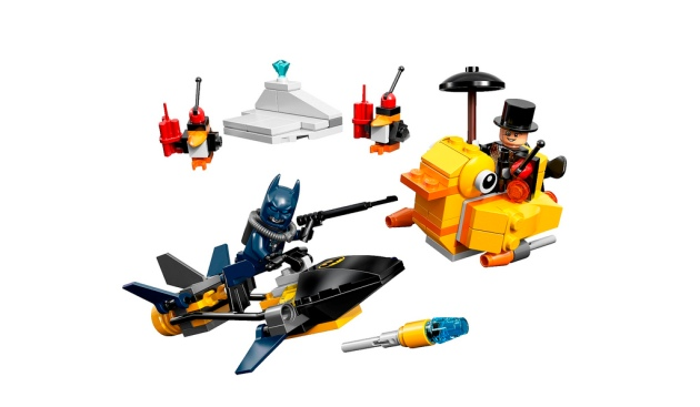 76010 Batman The Penguin Face off 1