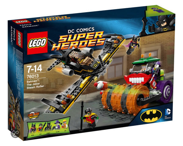 76013 Batman The Joker Steam Roller 1