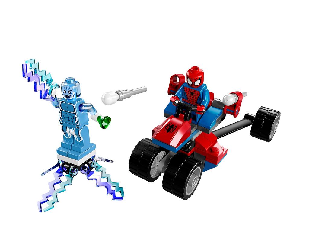 Spider-Trike vs Electr...