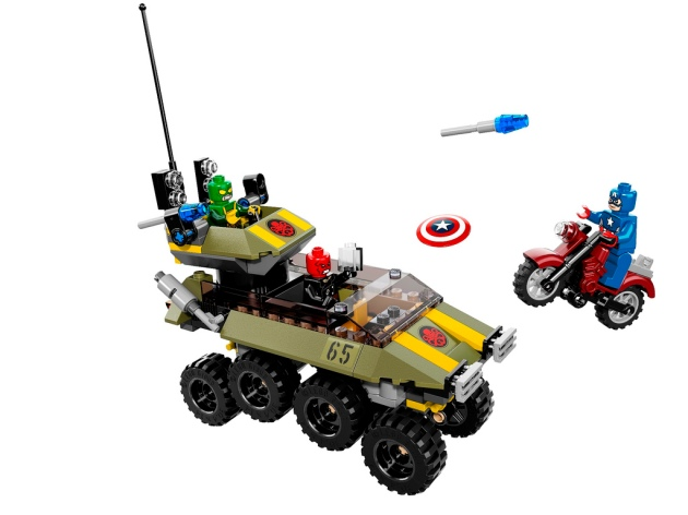 76017 Captain America vs. HYDRA 2