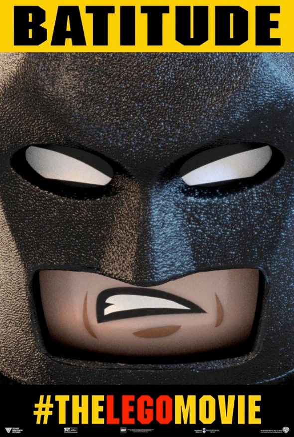 Batman and Superman Get The Lego Movie Posters - Graphic Policy