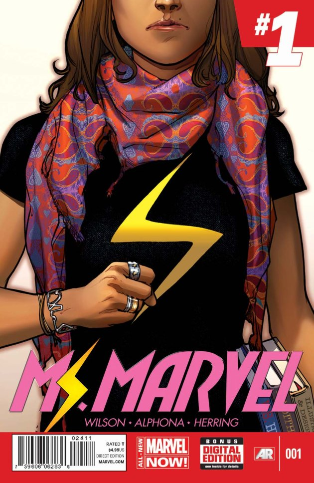 Preview: An All-New Legend Takes Flight in Ms. Marvel #1!