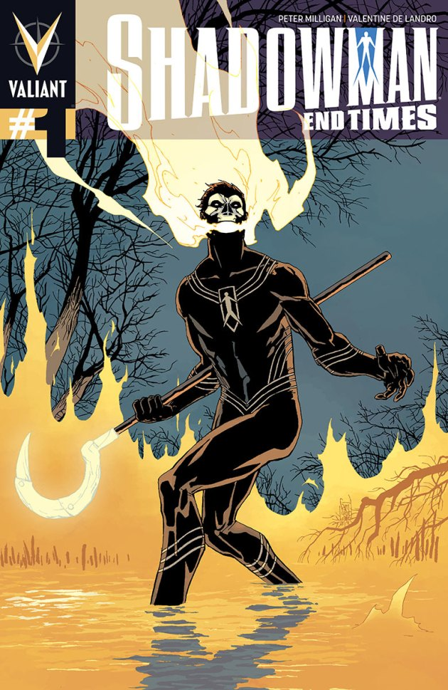Shadowman: End Times #1 – Coming in April from Peter Milligan and Valentine De Landro!
