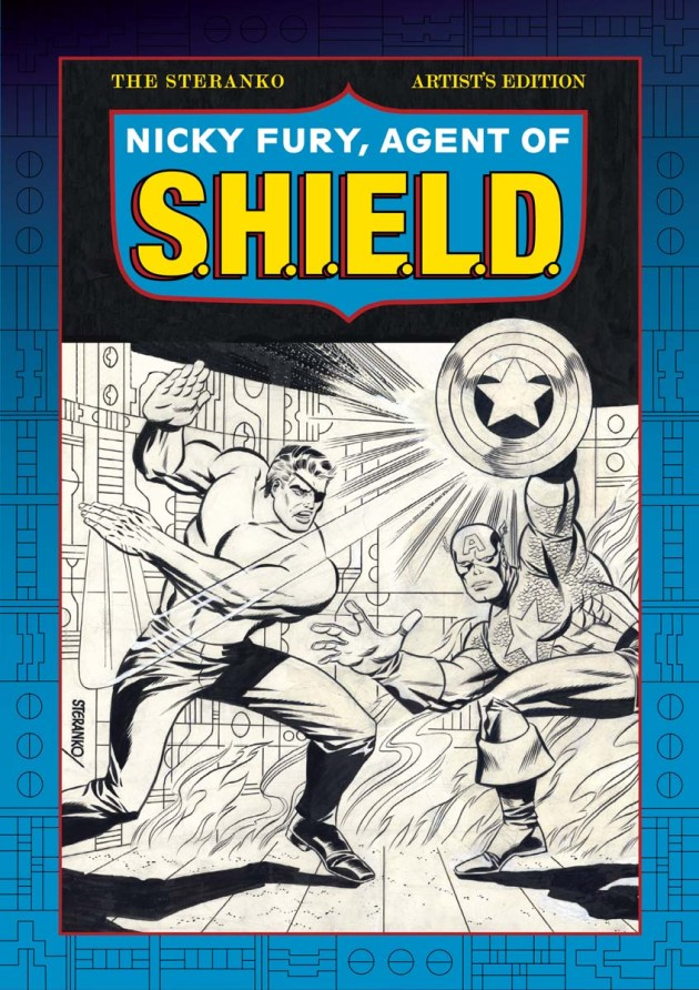 steranko fury AGENT OPF SHIELD