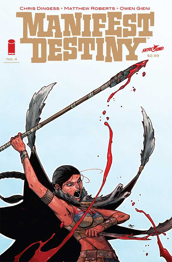 manifest destiny 4 second printing cover