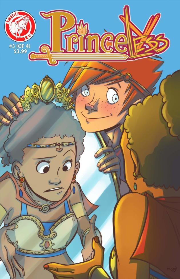 princeless 3 cover