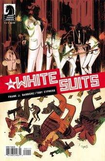 the white suits #1 cover