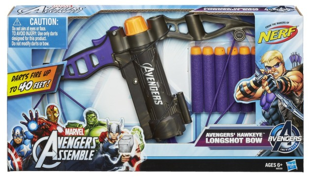 AVENGERS ASSEMBLE HAWKEYE LONGSHOT BOW In Pack A6530