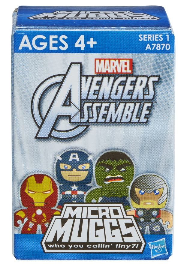 AVENGERS MICRO MUGGS PACKAGING