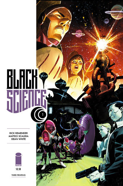 BLACK SCIENCE #1 3rd
