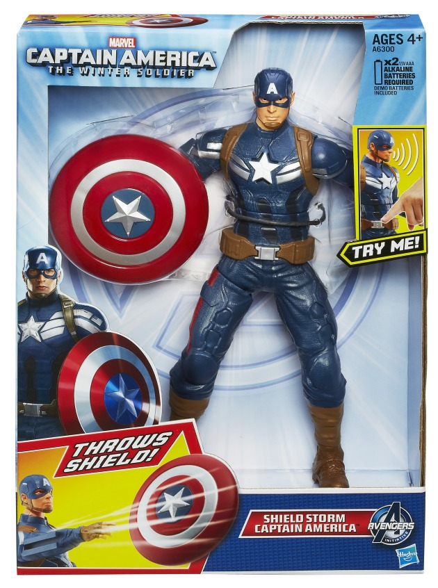 CAPTAIN AMERICA 10In SHIELD STORM CAPTAIN AMERICA In Pack A6300