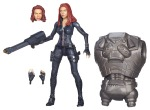 CAPTAIN AMERICA 6In INFINITE LEGENDS BLACK WIDOW A6220