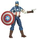 CAPTAIN AMERICA 6In INFINITE LEGENDS WW2 CAPTAIN AMERICA FIGURE A7680
