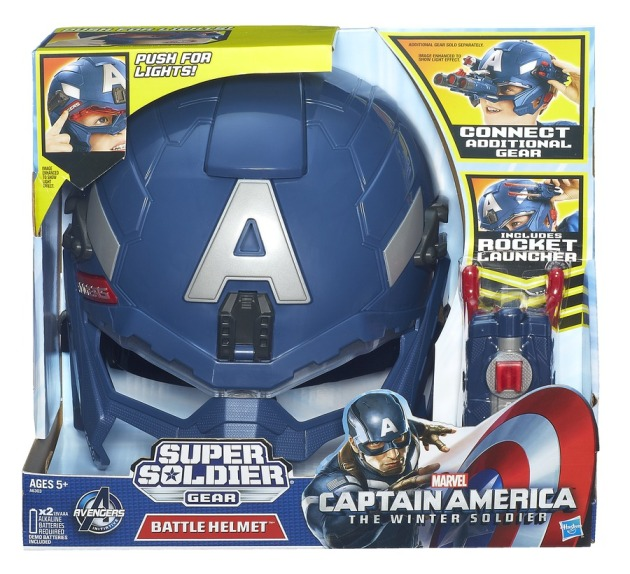 CAPTAIN AMERICA BATTLE HELMET In Pack A6303