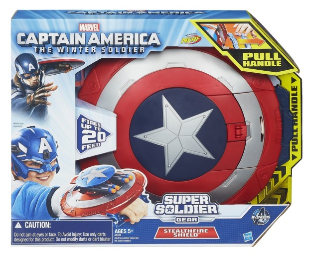 CAPTAIN AMERICA STEALTHFIRE SHIELD In Pack A6302