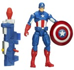 CAPTAIN AMERICA SUPER SOLDIER GEAR 3.75-Inch SHOCKWAVE BLAST CAPTAIN AMERICA Figure A6814