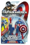 CAPTAIN AMERICA SUPER SOLDIER GEAR 3.75-Inch SHOCKWAVE BLAST CAPTAIN AMERICA Figure In Pack A6814