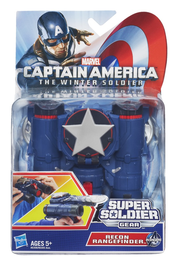 CAPTAIN AMERICA SUPER SOLDIER GEAR DUAL SHOT RECON RANGEFINDER InPack