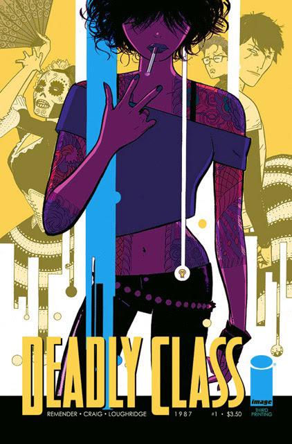 DEADLY CLASS #1 3rd